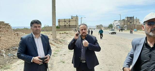 عملیات تعریض و بازگشایی خیابان 12فروردین(شهرک بهشتی) شاهرود/ 110متر بازگشایی مسیر مذکور انجام شد