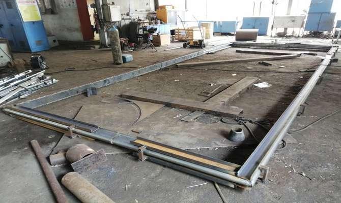 ساخت اکسپنشنGG5  مسیر دود لانگستروم واحد سه بخار برای اولین بار در نیروگاه بخار بندرعباس