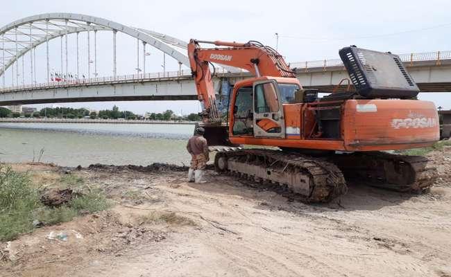 آغاز عملیات اجرایی پروژه ساحل سازی ضلع جنوبی رودخانه کارون با اعتبار 25 میلیارد ریال توسط شهرداری خرمشهر