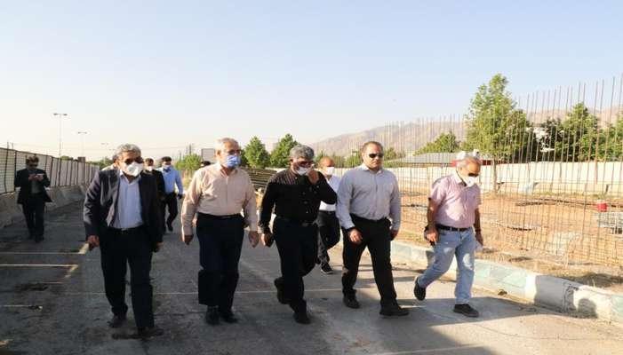 رئیس شورای شهر شیراز در بازدید از پروژههای عمرانی: کیفیت پروژهها قربانی سرعت نشود