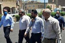 بازدید سنواتی ازپروژه های آسفالت در منطقه هشت شهرداری اهواز