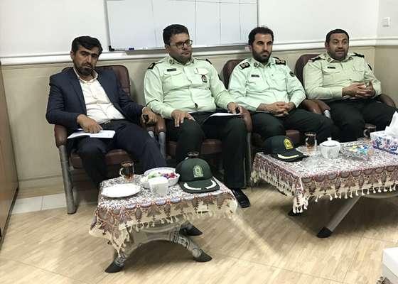 دیدار صمیمی فرماندهی انتظامی شهرستان دامغان با رئیس شورای اسلامی شهر