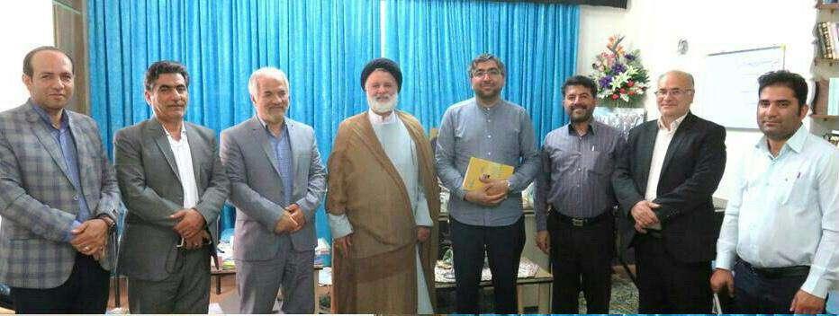 دیدار دکتر عموئی نماینده مردم تهران، ری، شمیرانات و اسلامشهر با برخی از مسئولین شهر دامغان
