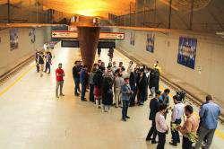 ایستگاه متروی وکیل الرعایا می تواند مقصد و هدف گردشگری باشد