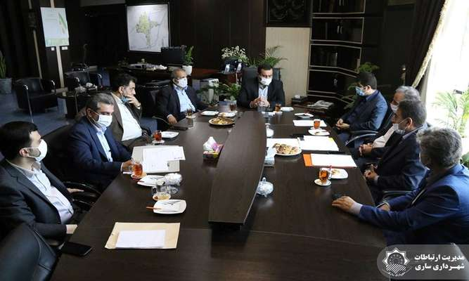 دیدار شهردار ساری و مدیرعامل شرکت توزیع برق مازندران