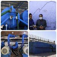 فاز اول پروژه آبرسانی به روستاهای غیزانیه افتتاح شد