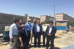 افزایش سرعت عملیات اجرایی در تهرانسر و بازدیدهای هفتگی