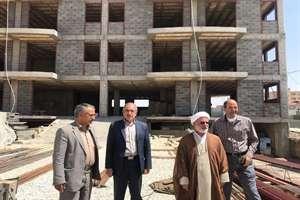 بازديد ميداني نماينده شهرستان بروجن از پروژه هاي عمراني