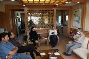 شهردار و شورای شهر هوره با مدیرکل راه و شهرسازی استان دیدار کردند