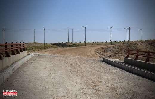 احداث رمپ شرقی بلوار ۶۵ متری خاوران به بلوار شهدای غواص