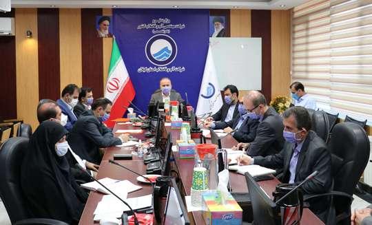 جلسه ویدئوکنفرانسی مدیران ارشد صنعت آب و برق گیلان در خصوص مبانی پویش # هرهفته _الف_ب_ایران
