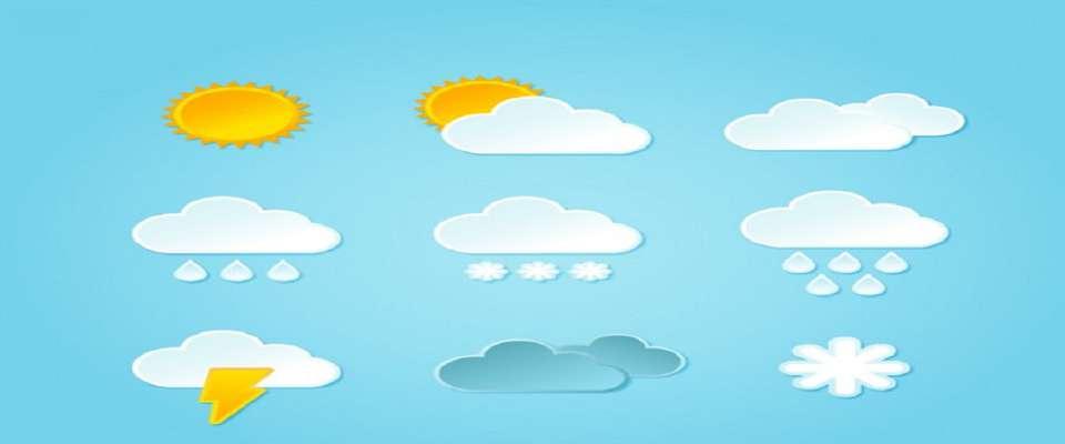 وضعیت آب و هوا در ۲۷ خرداد؛ وزش باد نسبتا شدید در استان های تهران و قم