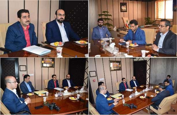 نشست مشترک مدیریت امور شعب بانک تجارت استان با مدیرکل بنیاد استان قم