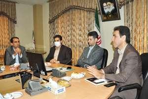 برگزاری جلسه بررسی مسائل مرتبط با حوزه معاونت توسعه مدیریت و منابع انسانی راه و شهرسازی بصورت ویدئو ...