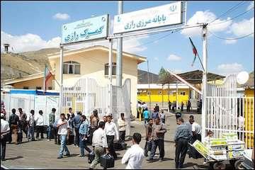 بازدید از مراحل ساخت سالن مسافری پایانه مرزی رازی در آذربایجان غربی