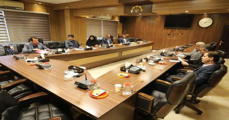 گزارش تصویری کمیسیون برنامه ، بودجه و حقوقی شورا