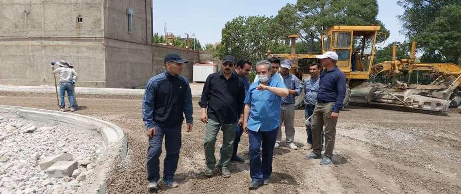 بازدیدهای شهردار تبریز در یک روز تعطیل