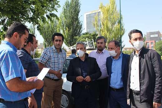 احداث خیابان ۱۲ متری فارابی به ۷ تیر در آستانه بهرهبرداری