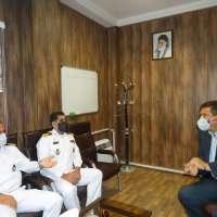دیدار فرماندهان ارشد نیروی دریایی با رئیس شورای اسلامی شهر سنندج