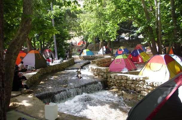 اسکان مسافر در آبشار یاسوج ممنوع شد