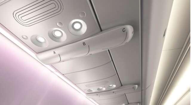 محافظ نامرئی هواپیما برای دوری از کروناویروس+تصاویر