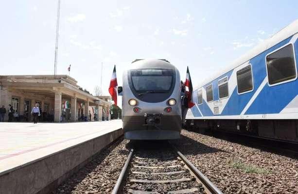خط دوم راه آهن کرج قزوین افتتاح شد