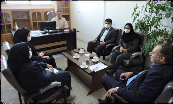 تشكيل جلسه مشترك با مسئولين شركت شهركهاي صنعتي استان اصفهان