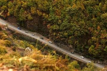 لغو محدودیت ترافیکی در دو جاده چالوس و هراز تا اطلاع ثانوی