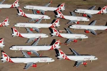 تاثیرات ویروس کرونا بر سفرهای هوایی کانادا