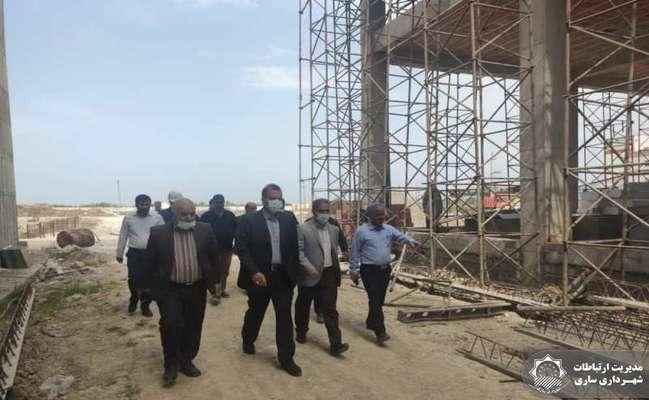 بازدید معاون استاندار مازندران از روند احداث نیروگاه زباله سوز