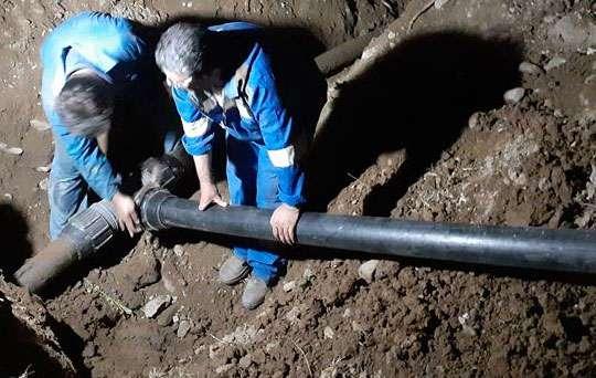 رفع مشکل افت فشار 892 خانوار روستاهای شهرستان فومن