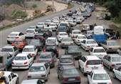 کاهش ۲.۲ درصدی تردد در جادههای کشور/ترافیک سنگین در محور هراز