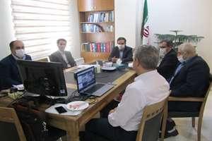 برگزاری جلسه ساماندهی تولید و حمایت از تولید و عرضه مسکن در طرح اقدام ملی به صورت ویدیو کنفرانس