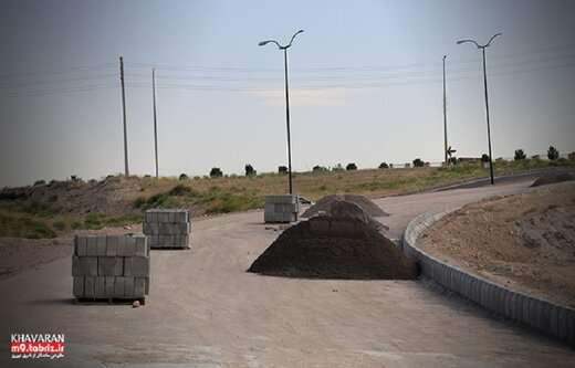 جدول گذاری  رمپ شرقی بلوار ۶۵ متری خاوران به بلوار شهدای غواص