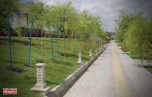 کاشت ۱۶۲۰۰ اصله نهال در سطح شهرداری منطقه ۹ تبریز