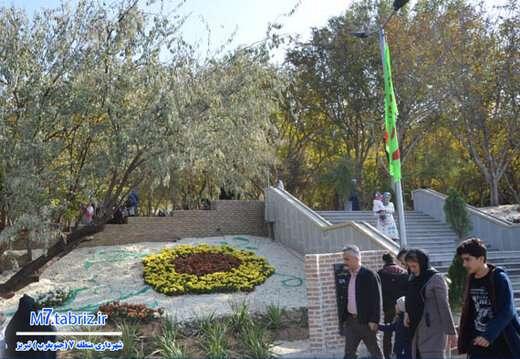 افزایش بیش از ۷۸ هزار متر مربعی سرانه فضای سبز در جنوب غرب تبریز