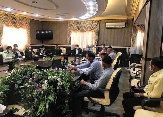 سومین جلسه بررسی وضعیت مجموعه تپه حصار با حضور فرماندار برگزار شد