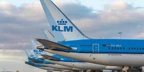 افزایش پروازهای KLM از ماه آینده