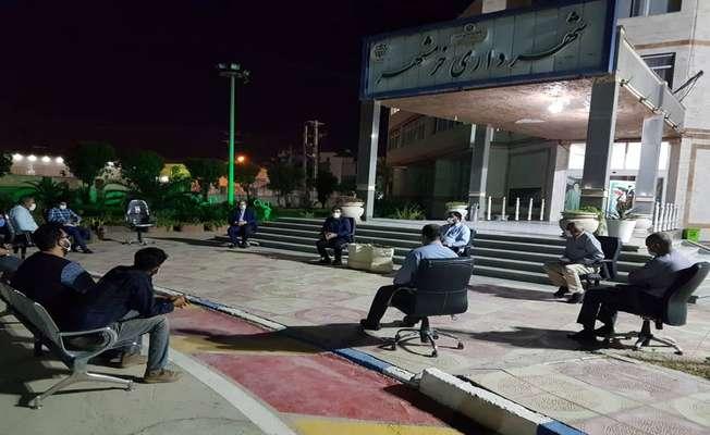 شهردار خرمشهر جهت رسیدگی ویژه به وضعیت آرامستان تشکیل جلسه داد