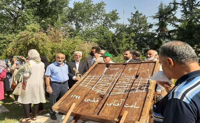 حضور عاقل منش عضو محترم شورای اسلامی شهر رشت در بوستان ملت و در کنار طیفهای گسترده مردم و علاقمندان به علم نجوم