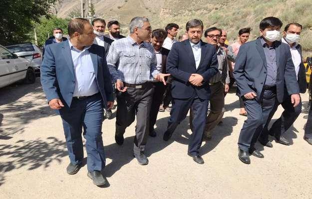بازدید مسئولان کشوری و نمایندگان مجلس شورای اسلامی مشهد و...