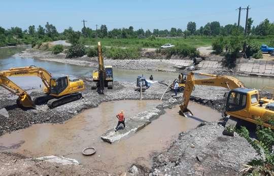 رفع نشتی خط انتقال شرق گیلان از هدررفت آب به میزان 170 لیتر در ثانیه جلوگیری کرد