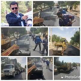 تداوم عملیاتهای عمرانی در شاهرود/ نهضت آسفالت شهری اولین پروژه شهری بر اساس نظر سنجی شهروندان