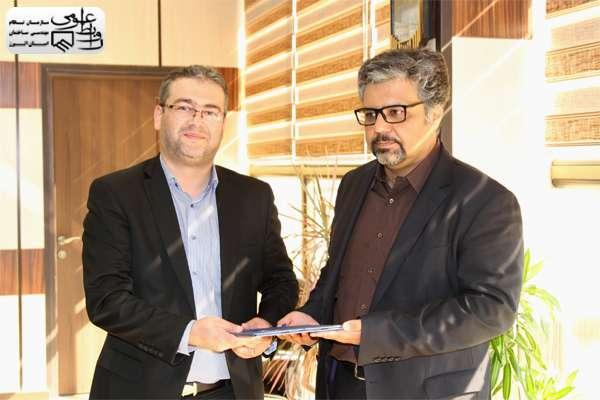 دیدار ریاست سازمان با شهردار منطقه ۴ شهرداری کرج (مهرشهر)