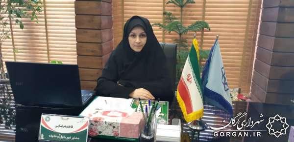 تقدیر از دختران برتر در دهه کرامت توسط شهرداری گرگان