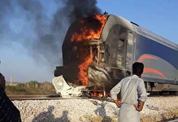 برخورد خودرو  با قطار مسافری محور اهواز-تهران در گذرگاه غیرمجاز