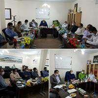 نشست تعاملی آبفا و شهرداری آبادان در حل مشکلات آب و فاضلاب