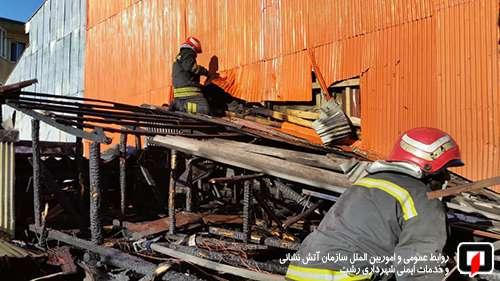 نگاهی کوتاه به عملیات های آتش نشانان شهر رشت تنها در 24 ساعت گذشته / آتش نشانی رشت