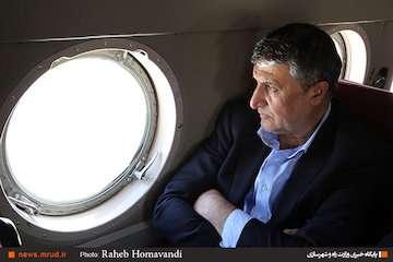 بازدید وزیر راه و شهرسازی  از ابر پروژه آزادراهی اصفهان - شیراز
