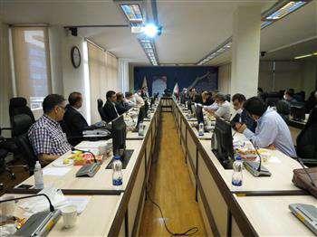 برگزاری جلسه بررسی بودجه ۹۹
